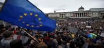 مظاهرة احتجاجية في لندن ضدالخروج من الاتحاد الأوروبي