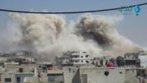 غارات جوية على ريف درعا و الانفجارات تهز الحدود الأردنية