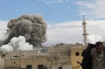 المقاتلات السورية والروسية تشن عشرات الغارات على محافظة درعا