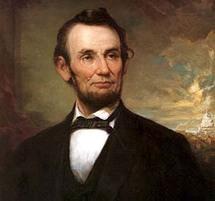 الرئيس الأمريكي الأسبق ابراهام لينكولن