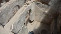 """اكتشاف بيوت للخلاء من العهد الأموي في """"حران"""" التركية"""