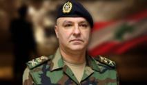 قائد الجيش اللبناني:نتصدى لمحاولات إسرائيل المس بثروات البلاد