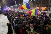 رومانيا تقر قانونا يشرع الكسب غير المشروع  والشعب يرد بالتظاهر