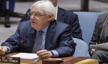 جريفيث  يحاول إقناع الحوثيين بالعودة إلى مشاورات السلام