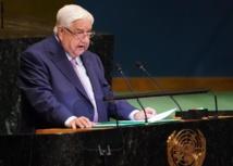 وليد المعلم بالامم المتحدة : اوروبا عرقلت عودة اللاجئين لسوريا