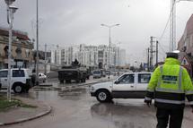 مدرعات الجيش في شوارع العاصمة التونسية - خاص بالهدهد