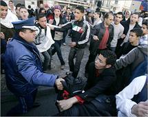 قانون الطوارئ يمنع التظاهر في الجزائر - ارشيف