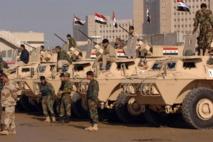 قائد عسكري عراقي يتفقد الوحدات العسكرية على الحدود مع سورية