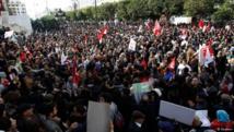 آلاف المعلمين يتظاهرون في تونس مطالبين بزيادة أجورهم