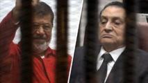أمام القضاء.. مبارك ومرسي وجها لوجه للمرة الأولى
