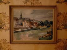 استعادة لوحة قيمة بعد سرقتها من معرض للفن في موسكو