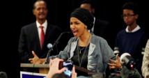"""إلهان عمر تواجه انتقادات بسبب تعليق اعتبر """"معاديا للسامية"""""""