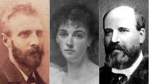وليام هنري كويليام (يسار) وليدي إيفيلين كوبولد وروبرت ستانلي اعتنقوا الإسلام في القرن التاسع عشر