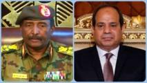 """""""السيسي"""" وا""""لبرهان"""" يتفقان على أولوية دعم إرادة الشعب السودانى"""