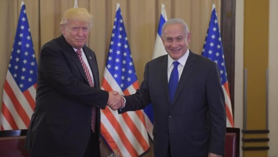 """نتنياهو يضع حجر الأساس لمستوطنة """"ترامب"""" في الجولان"""