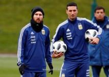 سكالوني : قطر لديها منتخب محترم ويلعب كرة قدم جيدة