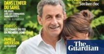 صورة لساركوزي وزوجته بروني تثير موجة من السخرية في فرنسا