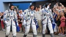 ثلاثة رواد يصلون إلى محطة الدولية مع احتفال ناسا بذكرى الهبوط على القمر