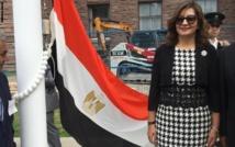 """وزيرة الهجرة المصرية تنفي تهديد المعارضين بفيديو """"قطع الرقبة"""""""
