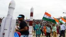 مركبة شاندرايان -2 الهندية تغادر مدار الأرض في طريقها نحو القمر