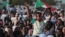 """""""قطار الثورة"""" يصل نهايته إيذانا بـ""""فرح السودان"""""""