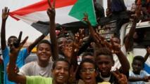 السودانيون يحتفلون  بالحكم المدني وتوقيع اتفاق المرحلة الانتقالية
