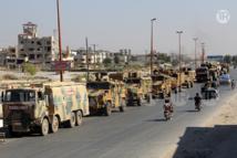 الهجوم على الرتل التركي بإدلب أسفر عن مقتل 3 مدنيين