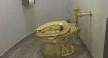 سرقة مرحاض ذهب من قصرونستون تشرشل في بريطانيا