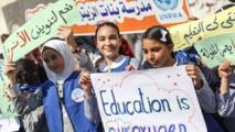 """لاجئون بغزة يطالبون """"المجتمع الدولي"""" بتجديد تفويض """"أونروا"""""""