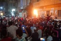 مصريون يخرجون إلى الشوارع للاحتجاج ضد الحكومة