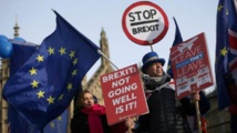 مسيرة للمطالبة باستفتاء جديد على خروج بريطانيا من الاتحاد الأوروبي
