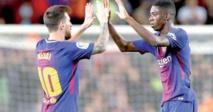 برشلونة يعتلي صدارة الدوري الإسباني بثلاثية في شباك إيبار