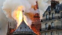 المشتبه به بهجوم مسجد فرنسا يحمل المسلمين مسؤولية حريق  نوتردام