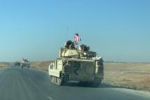 """""""أبرامز"""" الأمريكية تدخل سوريا لأول مرة باتجاه حقول النفط"""