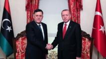 اخر اجتماع بين اردوغان والسراج