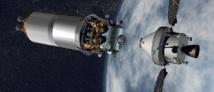 انطلاق مركبة فضائية روسية إلى محطة الفضاء الدولية حاملة برمجيات