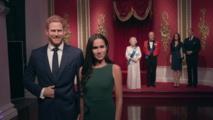 متحف الشمع يزيل تمثالي هاري وميغان من العائلة الملكية