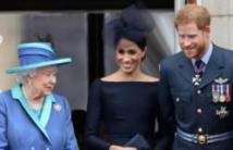 هاري يلتقي الملكة إليزابيث