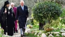 الأمير تشارلز يزور قبر جدته في القدس