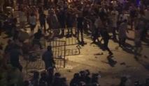 مواجهات بين الأمن والمتظاهرين بساحة رياض الصلح وسط بيروت