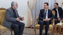 اللهيان : سليماني منع سقوط دمشق وأدار الوضع من غرفة الأسد