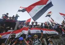 متظاهرون عراقيون يطالبون بتحديد موعد لإجراء انتخابات حرة ونزيهة