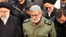قائد فيلق القدس يظهر في ايران