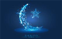 السبت هو المكمل لشهر رمضان و الأحد عيد الفطر المبارك