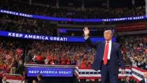 ترامب يعقد أول اجتماع  حاشد وسط مخاوف صحية من كورونا
