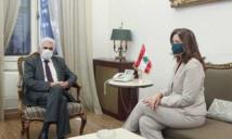 السفيرة الأمريكية في بيروت : مستعدون لدعم لبنان