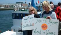 سفينة الإجهاض الهولندية ترسو على سواحل المغرب رغم اعتراض السلطات