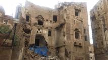حماية 40 مبنى تاريخي من الانهيار في صنعاء القديمة باليمن