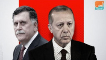 """أردوغان """"حزين"""" بسبب خطوة حليفه السراج تسليم السلطة في ليبيا"""