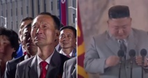 كيم جونغ يبكي أمام الكاميرات ويعتذر من شعب كوريا الشمالية